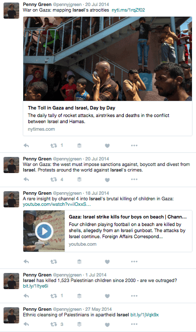 penny green tweets 2