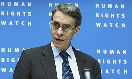 Kenneth Roth from Human Rights Watch