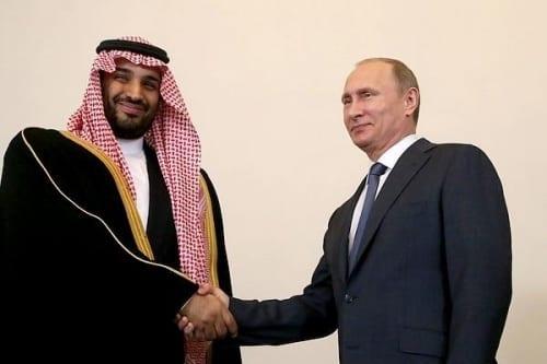 Putin Saudis