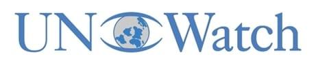 UN Watch logo blue