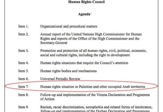 Agenda - item 7 in red