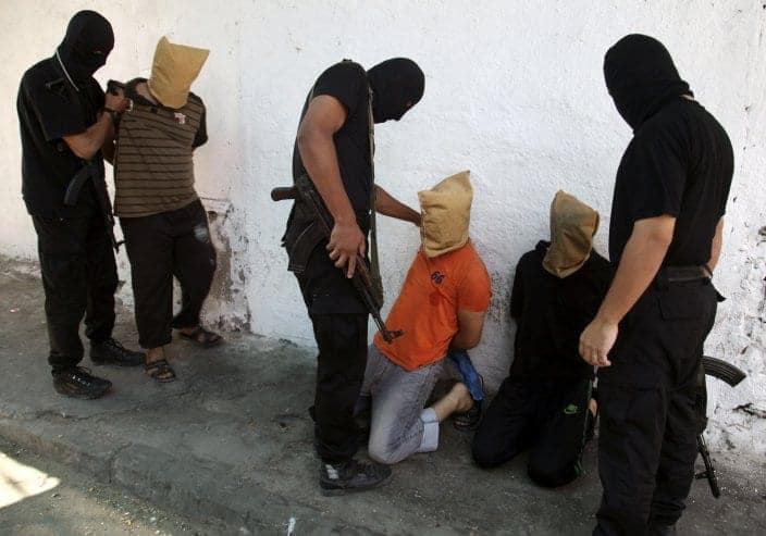 hamas-militants-before-executions