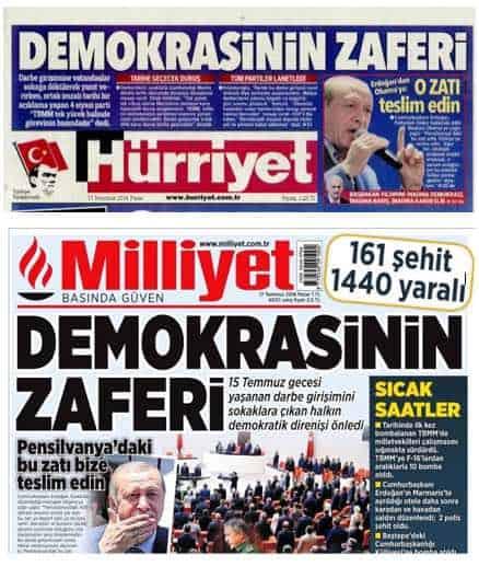 Democracy Victory - turkey