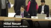 In 90 Seconds, Hillel Neuer Takes on U.N. Dictators